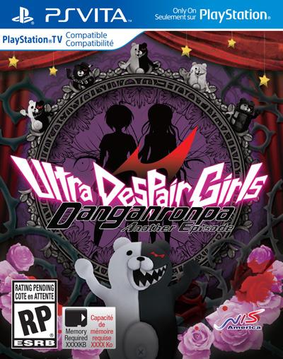 Danganronpa Another Episode: Ultra Despair Girls Box Art