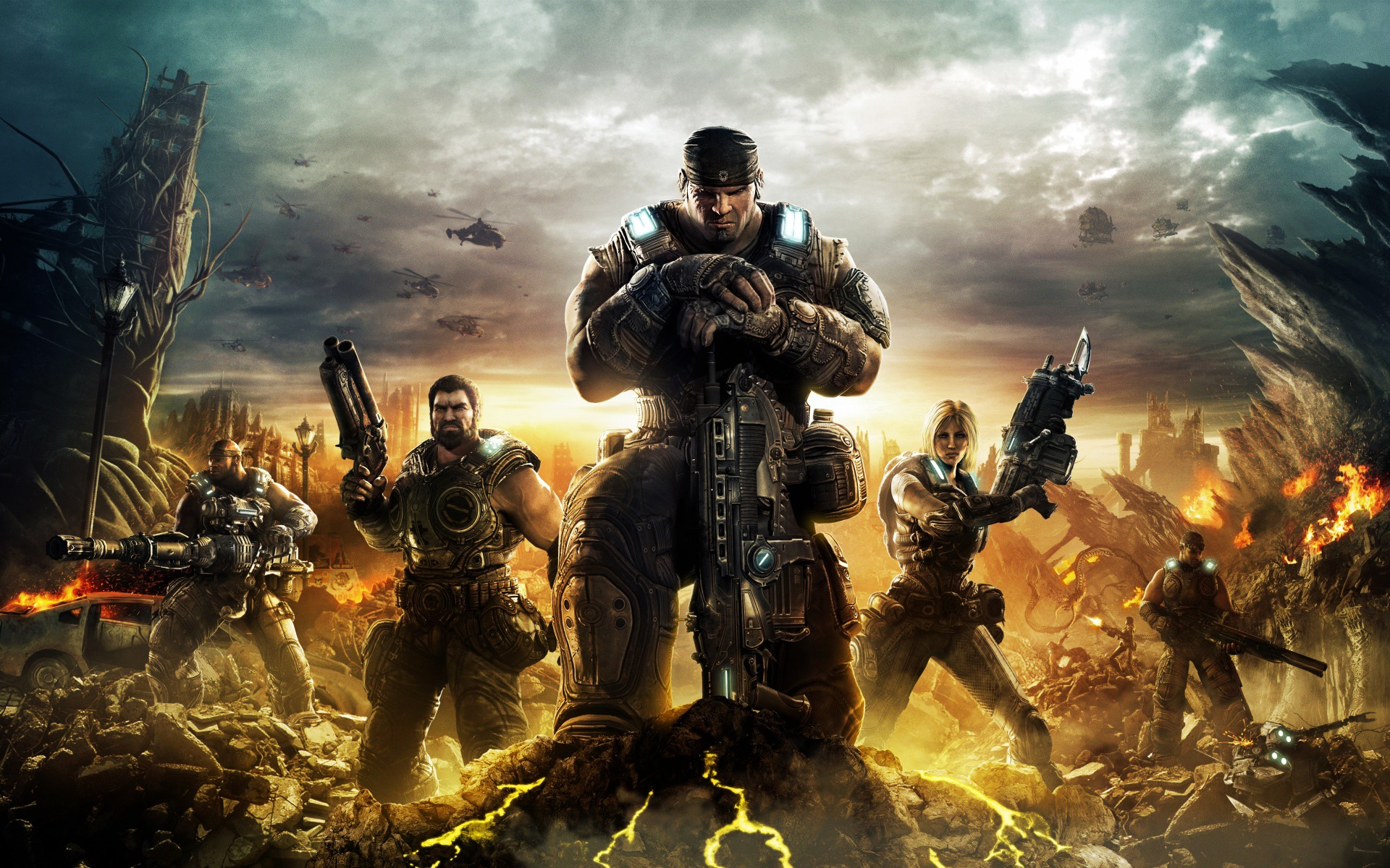 Image result for gears of war