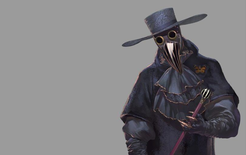Zero, the antagonist and the equivalent of Jigsaw from Saw. He rocks the plague doctor look though. . .