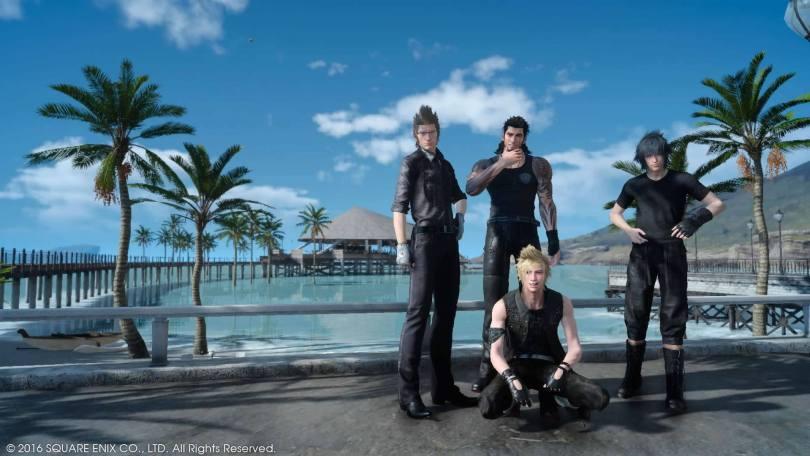 Final Fantasy XV The Crew