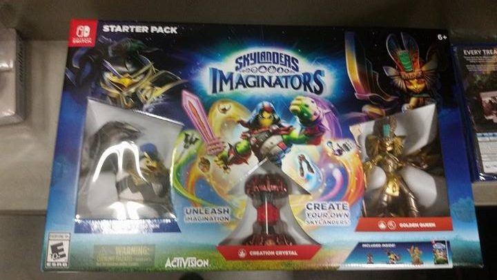 Switch accessories Skylanders front