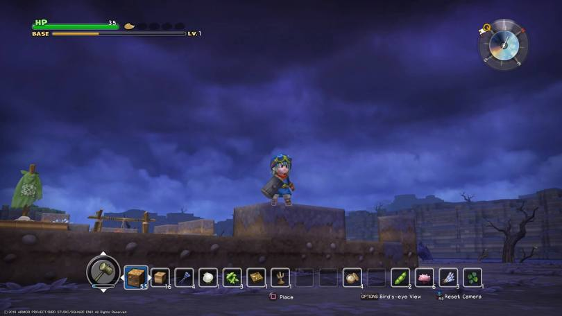Dragon Quest Builders Poison Swamp