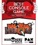 PAX Best Console Game Nominee - Has-Been Heroes