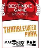 PAX Best Indie Game Nominee - Thimbleweed Park