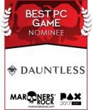 PAX Best PC Game Nominee - Dauntless