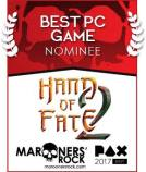 PAX Best PC Game Nominee - Hand of Fate 2