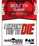 Best VR Game Nominee - I Expect You To Die