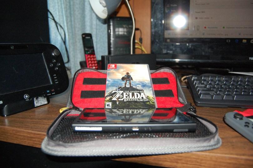 Nintendo Switch Zelda machine