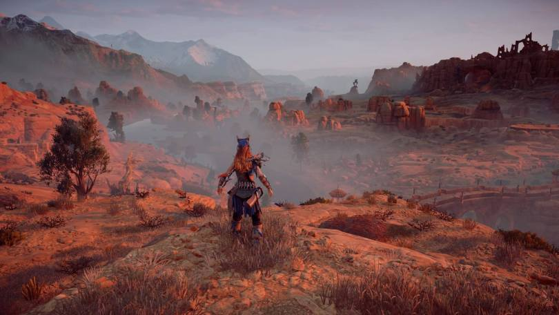 Horizon Zero Dawn Desert area
