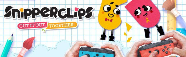 Snipperclips Title