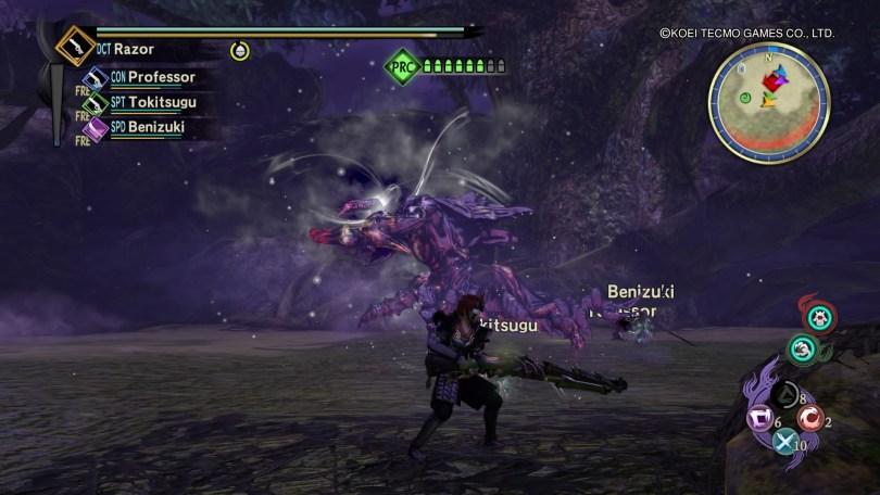 Toukiden 2 Rifle Fight