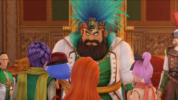 Dragon Quest Heroes 2 king