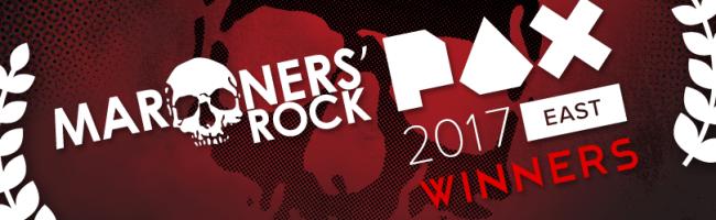 Marooners Rock PAX East 2017 Winners