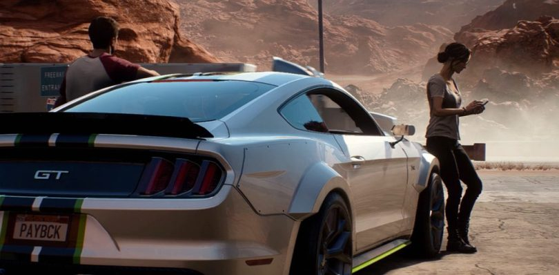 Female representation in EA Need for Speed