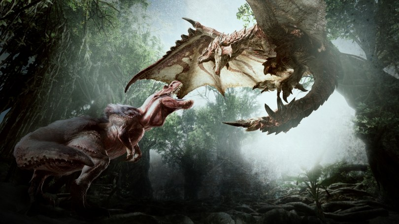 Monster Hunter World Monsters in HD