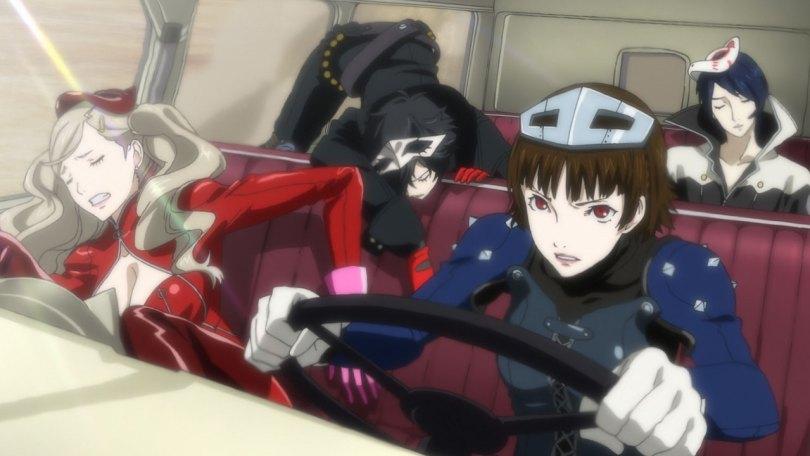 Persona 5 anime cutscenes