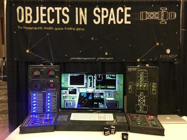 Objects in Space Bridge