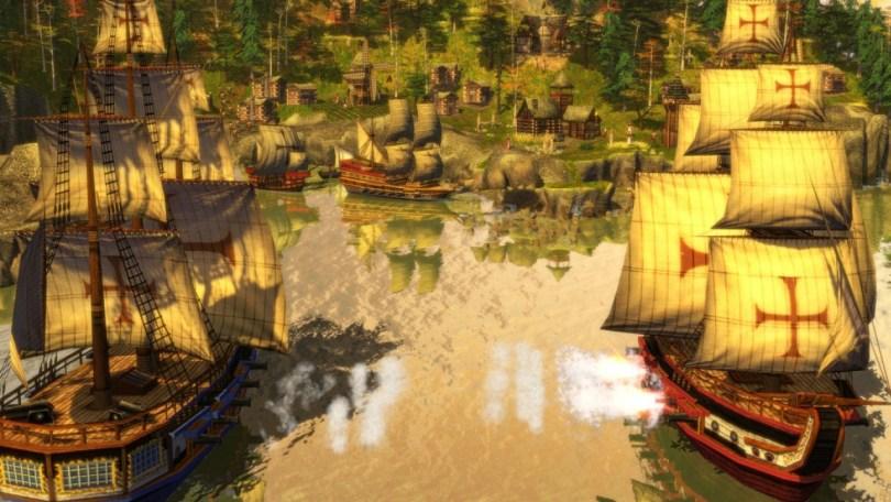 Age of Empires, Sailing ships
