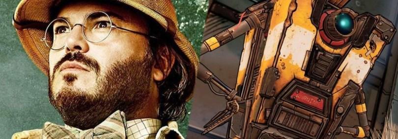 Jack Black Cast as Claptrap for Borderlands Movie