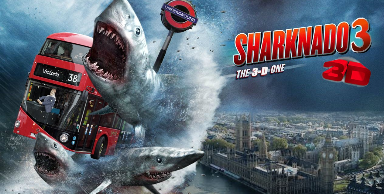 Netflix Review: Sharknado 3