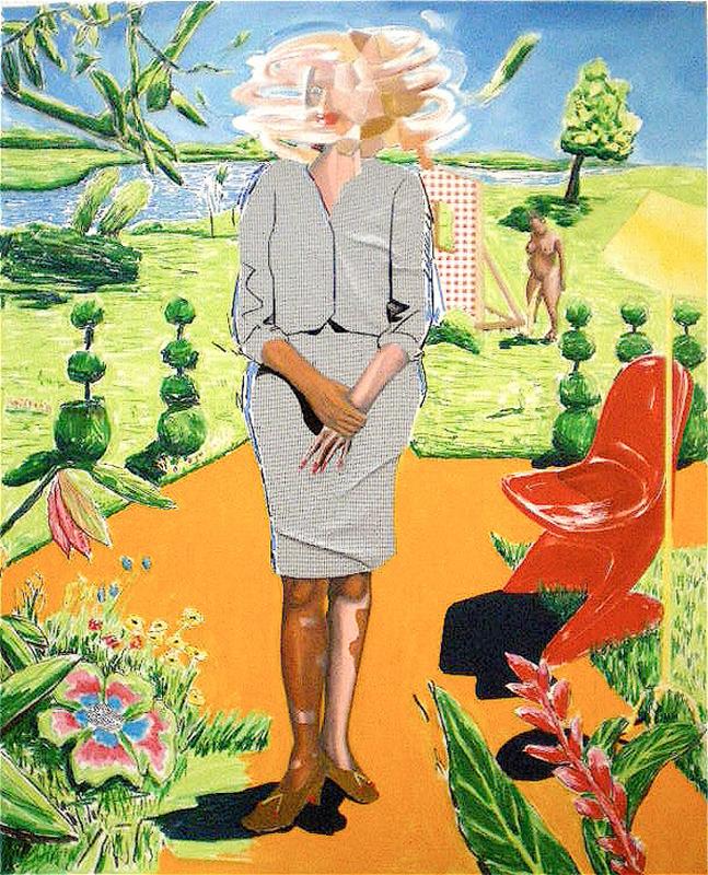 Lennon Jno-Baptiste - Untitled (Chamillion - Orange)