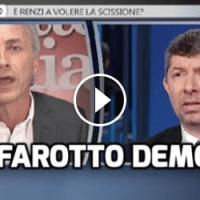(VIDEO): TRAVAGLIO DEMOLISCE SCALFAROTTO