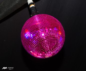 Image of Pink Mirror Ball