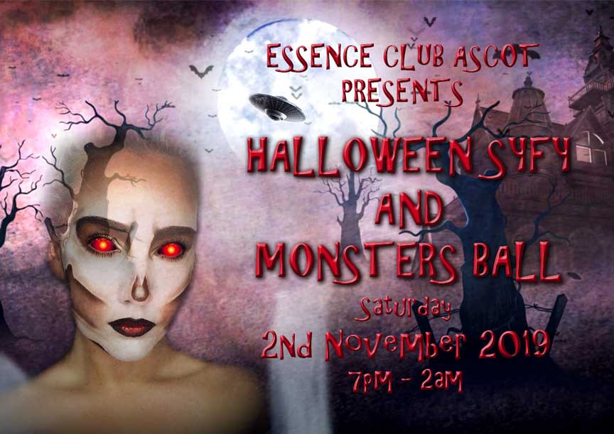 Halloween SyFy and Monsters Ball