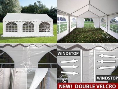 Innovation! Marquees with Velcro closure