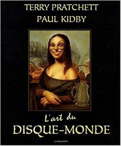 L'art du disque monde de Terry Pratchett. Un livre illustré.