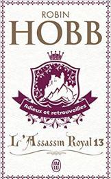 Couverture du livre Adieu et retrouvailles Robin Hobb