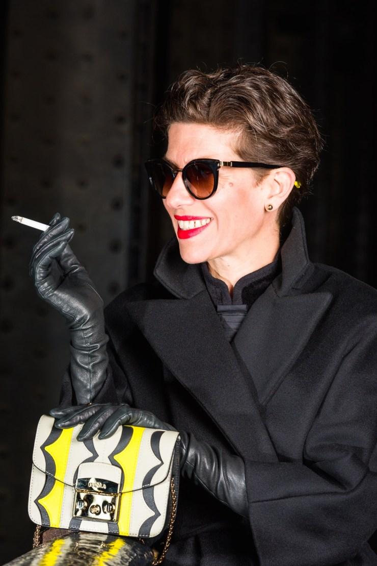 Fashion Shooting - Marquis Blog Paris. Pont Alexandre III