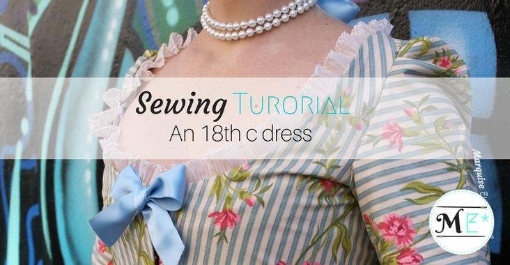 Make your Georgian dress (18thc) like a pro! - 4aa1b0d66af