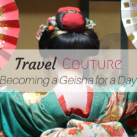 I transformed into a Geisha (Maiko) in Kyoto