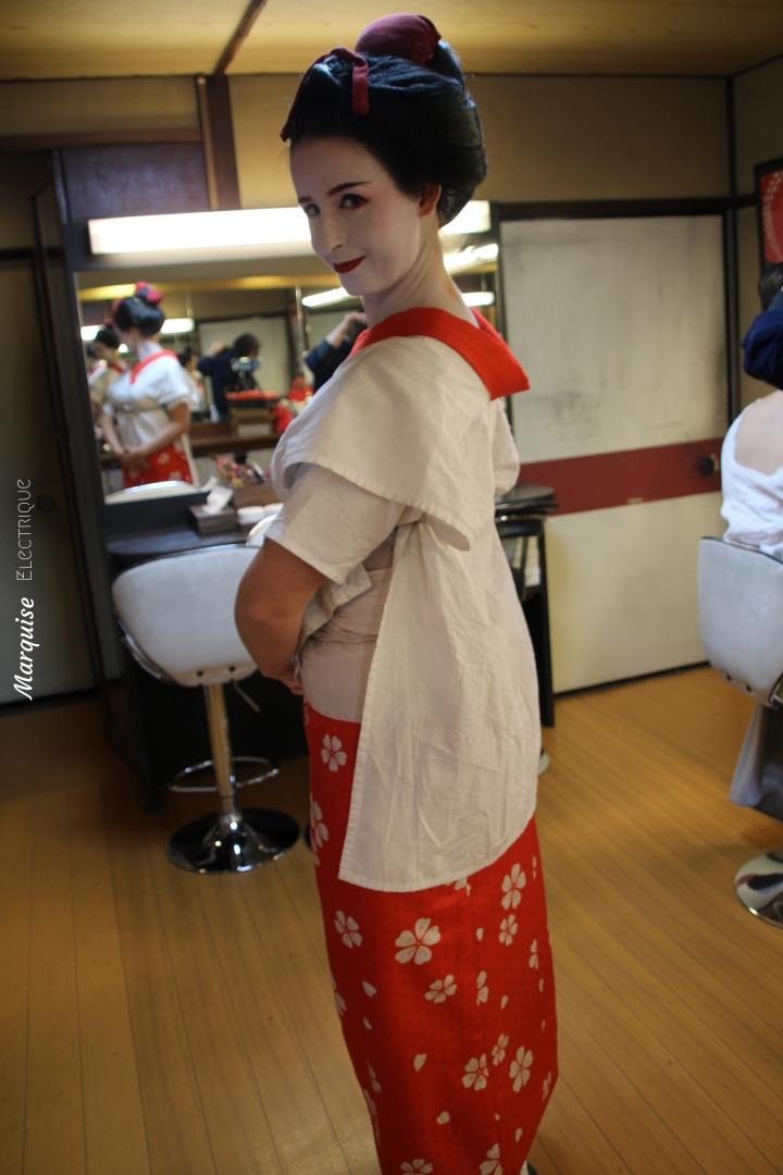 geisha sewing kyoto