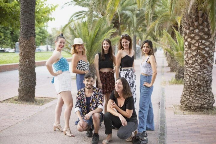 Groupe de couture cours Barcelone