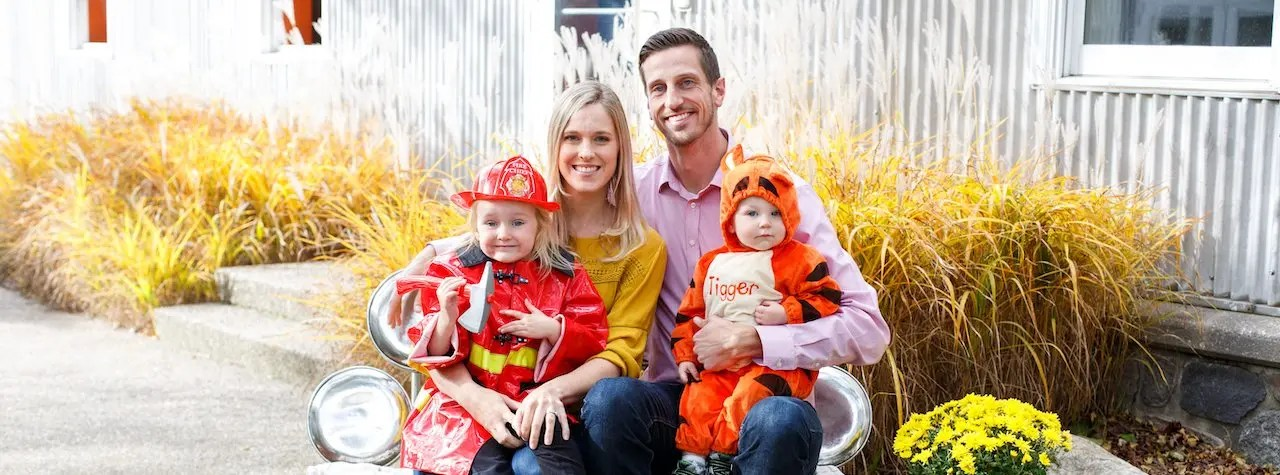 Derek Sall and Family