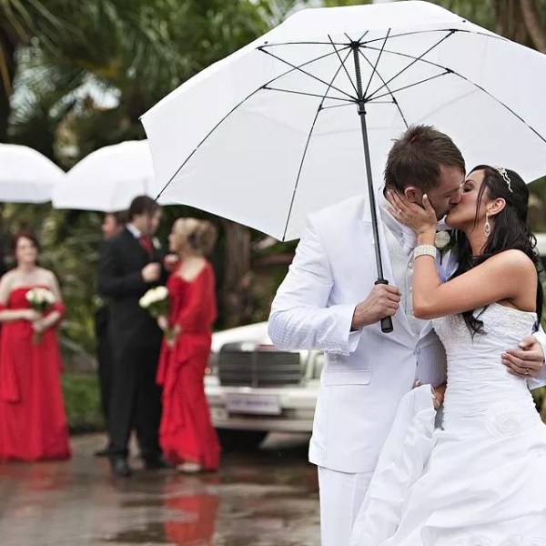 It's Raining on my Wedding Day