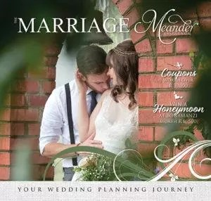 Annual Marriage Meander wedding planning book.