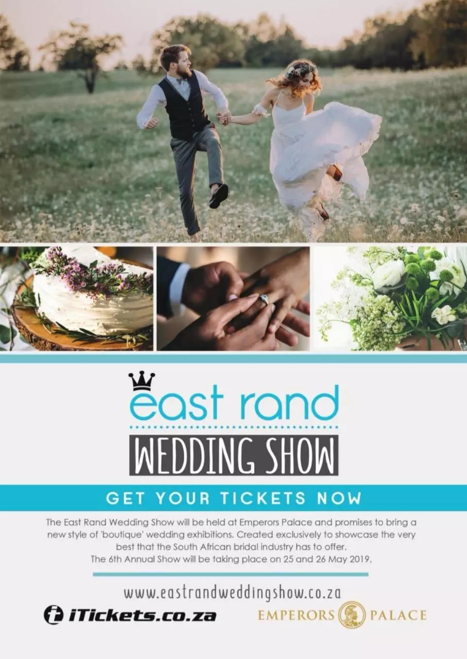 East Rand Wedding Show 2019 advert