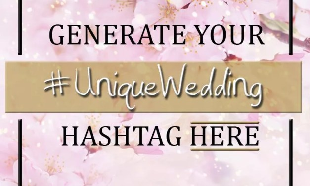 Generate a Hashtag for your Wedding