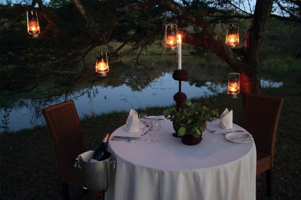 Romantic dinner for 2 - Private dining