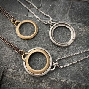 couples eternity necklace