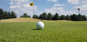 Is your partner teed off with you?