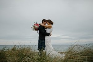 Ah happy days wedding bliss loving couple
