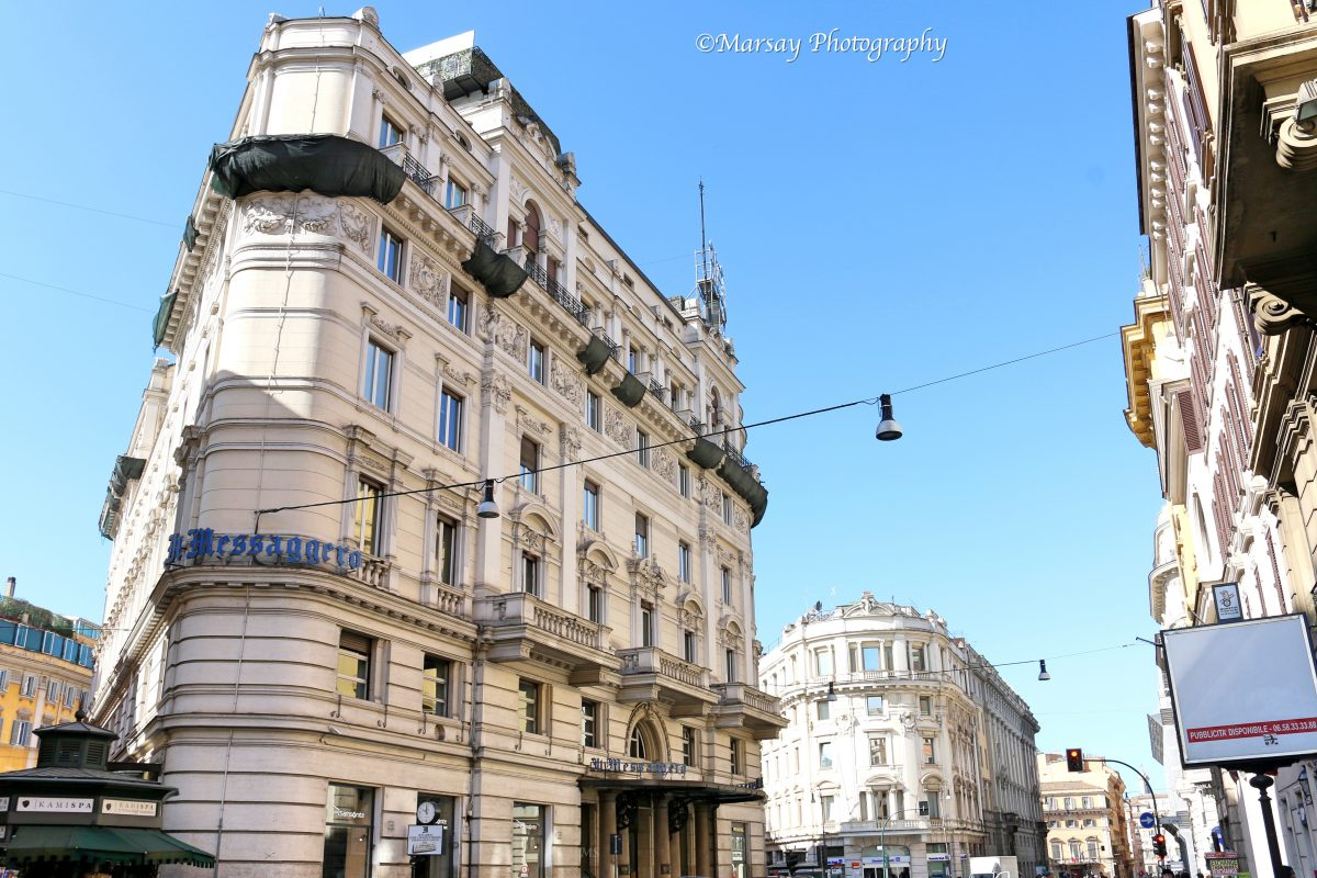 The il-Messaggero Building in Rome