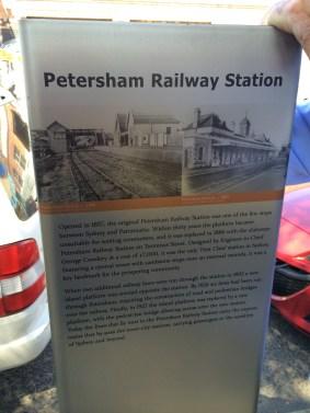 Petersham station
