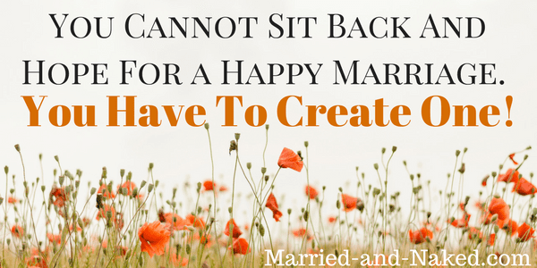 create a happy marriage