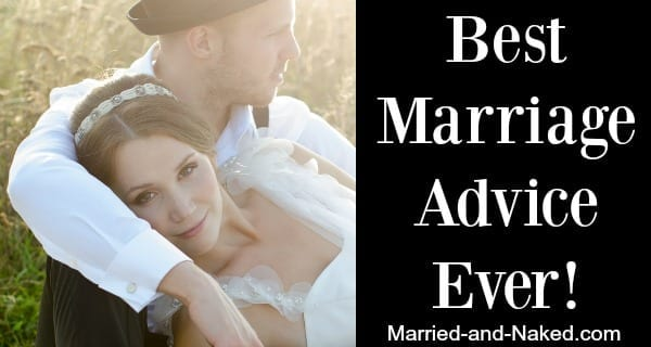 best marriage advice ever - banner married and naked