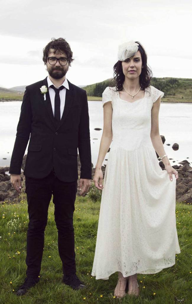 Icelandic couple just married